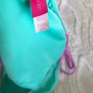 Victoria's Secret Swim - Victoria's Secret Aqua Tie Bikini Bottom sz - M